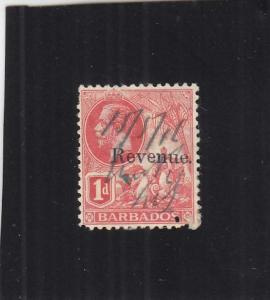 Barbados, Revenue Stamp, 1c, Sc #2 (24630)