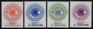Singapore 412-5 MNH Commonwealth Day