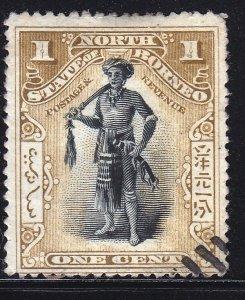 North Borneo - 1894 - Used - Scott 59