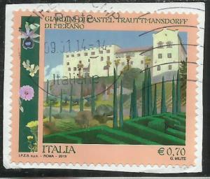 ITALY REPUBLIC ITALIA REPUBBLICA 2013 GIARDINI DI CASTEL TRAUTTMANSDORFF DI M...