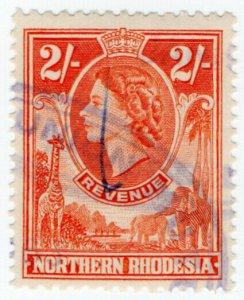 (I.B) Northern Rhodesia Revenue : Duty Stamp 2/-