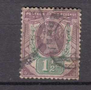 J27509 1887-92 great britain used #112 queen
