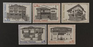 Greece 1975 #1142-6, MNH.