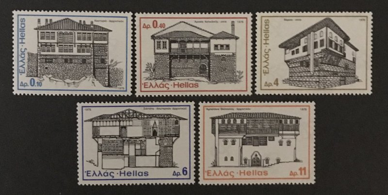 Greece 1975 #1142-6, MNH.
