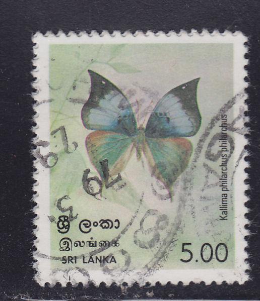 Sri Lanka 536 Butterflies 1978