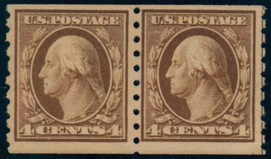 US Scott #395PR Mint, FVF, NH