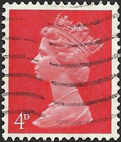 GREAT BRITAIN - MH7 - Used - SCV-0.25