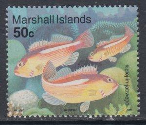 Marshall Islands 438 Fish MNH VF