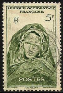 French West Africa 1947 Scott# 49 Used