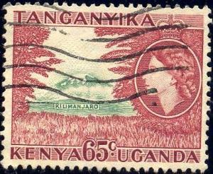 Mt. Kilimarjaro, Kenya, Uganda & Tanzania SC#111 used