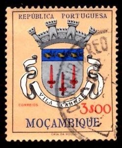 Mozambique 1961 Vila Cabral, Coat of Arms 3e Scott.416 Used (#4)