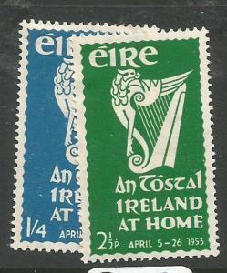 Ireland SG 154-5 MOG (10chb)