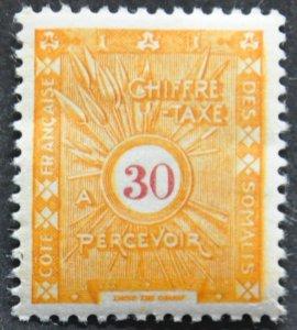 DYNAMITE Stamps: Somali Coast Scott #J5 – MINT hr
