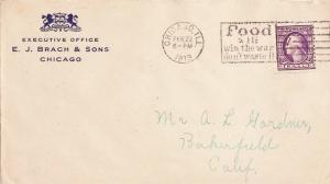 United States Illinois Chicago, Ill. 1918 Universal Machine Type Food Will Wi...