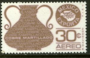 MEXICO EXPORTA C486, 30cts. COPPER VASE, PAPER 1 MNH