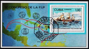 Cuba. 1982 Miniature Sheet. Fine Used