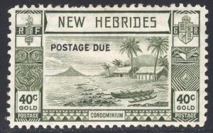 NEW HEBRIDES-BRITISH SCOTT J9