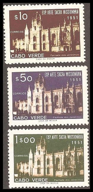 Cape Verde 293-295 Mint VF NH