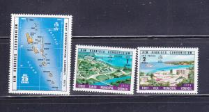 New Hebrides, British 208-210 Set MH Various