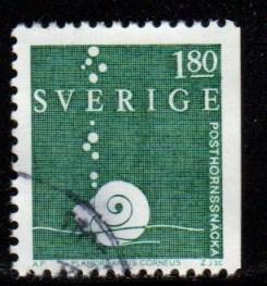Sweden -  #1468 Snail  - Used