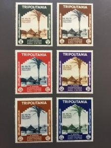 Tripolitania 73-78 F-VF MH. Scott $ 25.50