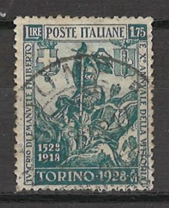 COLLECTION LOT # 5406 ITALY #207 1928 CV+$40