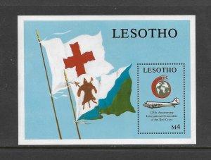 LESOTHO #699  RED CROSS  MNH