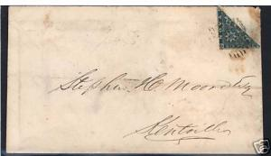 Nova Scotia #5a Used Bisect On Cover