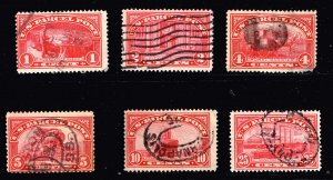 US STAMP BOB Parcel Post Stamp 1913 Used STAMPS COLLECTION LOT