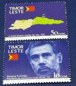 Timor # 356-357 MNH