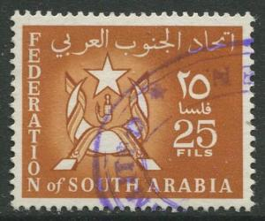 STAMP STATION PERTH South Arabia #7 Definitive Issue 1965 Used  CV$0.25