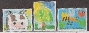 Liechtenstein Scott #1273-1274-1275 Stamps - Mint NH Set