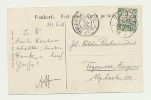 TOGO GERMAN COLONIES 1905 CARD JUJU ROCK LOME-BAYERN, 5pf RATE (SEE BELOW