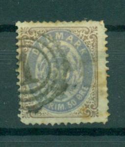 Denmark sc# 33a used cat value $175.00