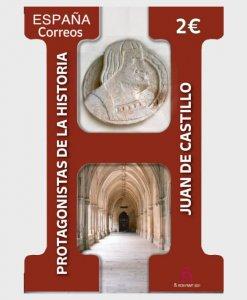 Stamps Spain 2021- Juan De Castillo - Mint.