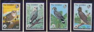 Gambia Stamps Scott #381 To 384, Mint Never Hinged - Free U.S. Shipping, Free...