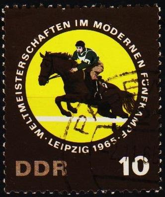 Germany(DDR). 1965 10pf  S.G.E852 Fine Used