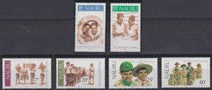 Nauru 244-249 MNH (1982)