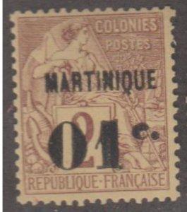 Martinique Scott #9 Stamp - Mint Single