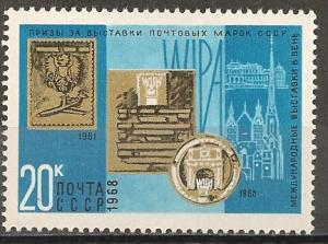 Russia #3539 Mint Never Hinged F-VF (ST073)