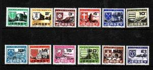 Jersey-Sc#J21-32- id5-unused NH Postage Due set-1978-