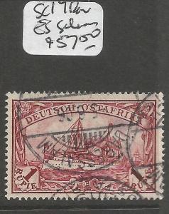 German East Africa SG 19 Dar Es Salaam CDS VFU (5cmk)