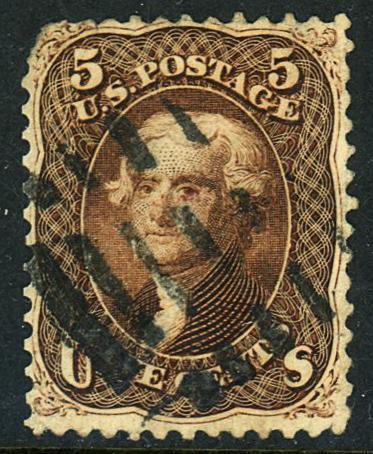 U.S. #76 Used F-VF
