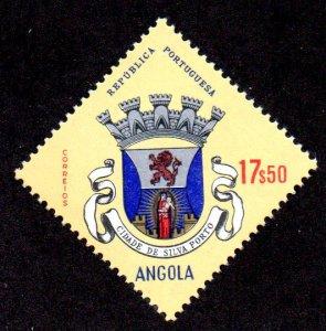 ANGOLA 482 MNH SCV $2.40 BIN $1.45 COAT OF ARMS