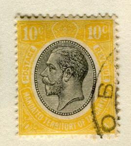 TANGANYIKA;   1927 early GV issue fine used 10c. value