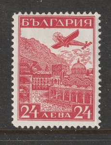 Bulgaria a 24L Air stamp MH from 1932