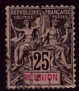 Reunion #44 Used F-VF hr...Popular British Island Country!