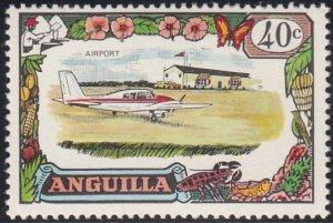 Anguilla 1970 MH Sc #109 40c Airport, airplane