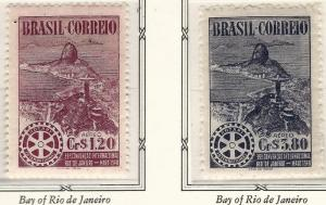 Rotary International Brazil C66-67 MNH F-VF...High Quality Collectable!
