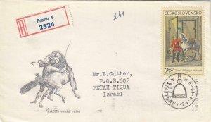 1969, Ceskoslovensko: Horse & Groom, FDC (D13069)